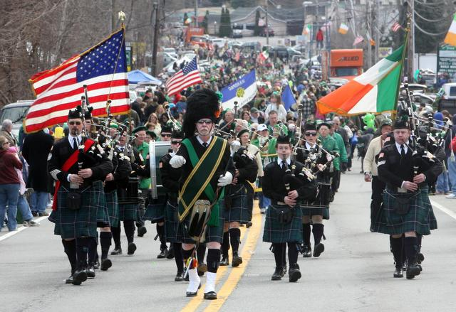 Guinness: Drinks brand pulls out of NY's St. Patrick's Day parade over LGBT participation exclusion   In March 2014, Irish brewer  Guinness  announced it would not participate in New York City's annual St. Patrick's Day Parade because gay and lesbian groups were prohibited from carrying gay-friendly or LGBT identifying signs. The brand, one of the event's biggest sponsors, withdrew support the day before the event after negotiations to reverse the exclusion policy failed. In September 2014, event organizers announced that an LGBT group would be allowed to march under their own banner in the 2015 parade.
