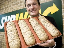 Subway: Sandwich chain removes potentially harmful chemical from its bread in the US   In February 2014,  Subway  announced that it would remove the chemical azodicarbonamide from its bread products in the US, after a consumer petition raised over 60,000 signatures in a week. The chemical – which lengthens the shelf life of bread – is approved by the USDA and FDA, however is not allowed to be used in food products in Europe or Australia. Advocacy groups claimed that the chemical converted into carcinogens when baked.