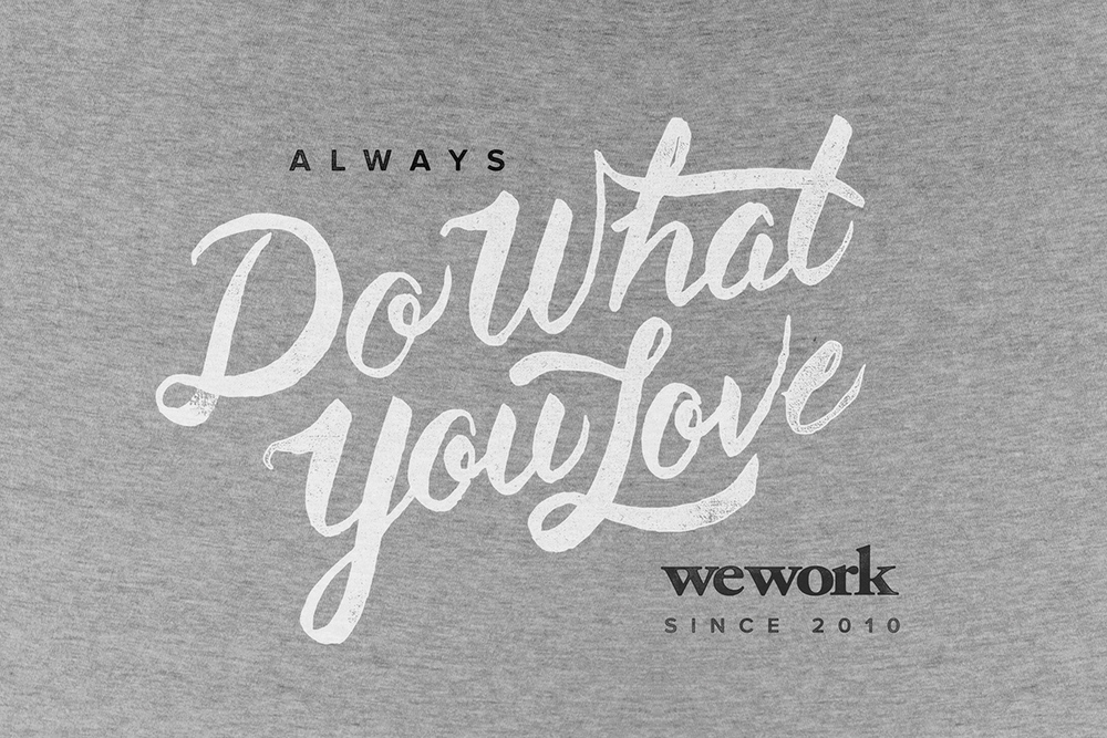 WeWork  is a U.S.-based company that provides shared workspace, community and services for entrepreneurs, freelancers, startups and small businesses. It is now reportedly valued at over $10 billion.    Image Courtesy: Jeremiah Britton