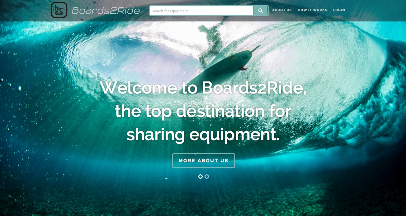 Boards2Ride.com  lets people connect with the gear they need while simultaneously avoiding the hassle and cost of transporting their own equipment while traveling.    Image Courtesy:  Boards2Ride.com