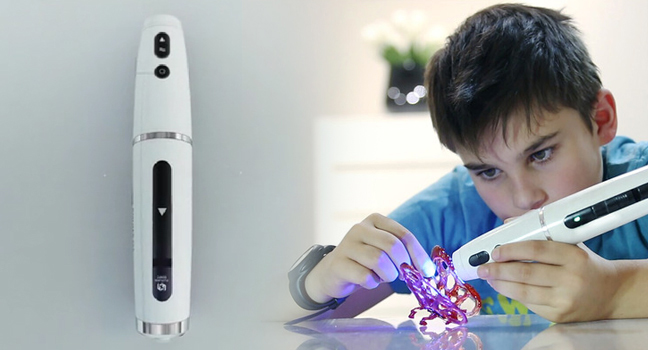 Polyes Q1 is a highly innovative offering in the 3D pen space, allowing for easy and fast designs to be produced with nearly zero safety issues.   Image Courtesy: Future Make