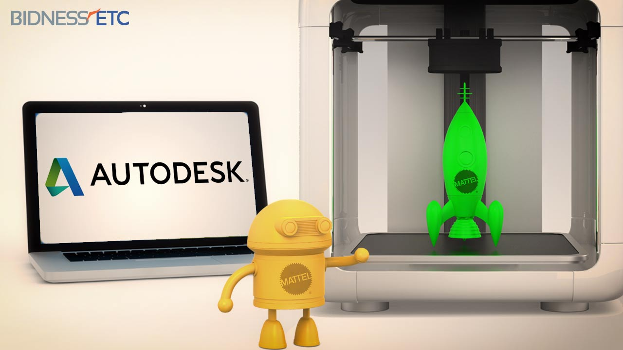 Mattel's direct embrace of 3D printing technology is allowing kids to both design and print their own toys...an exercise that is both fun and educational.  Image Courtesy: Autodesk.com