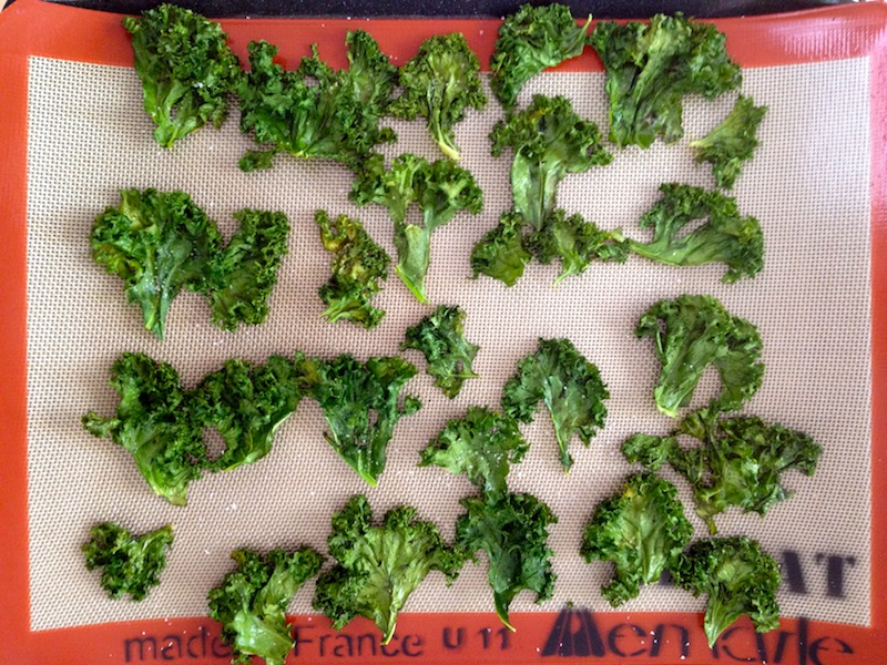 Crunchy kale. Healthy chips. Guilt-free snacking.