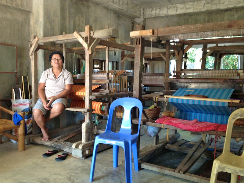 Aling Naty is Abra's weaving community leader. Through her, the mothers have been empowered to learn weaving and give their families a new source of income.