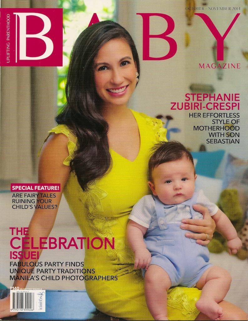 baby magazine ph cover