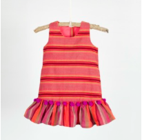 drop waist dress orange.png