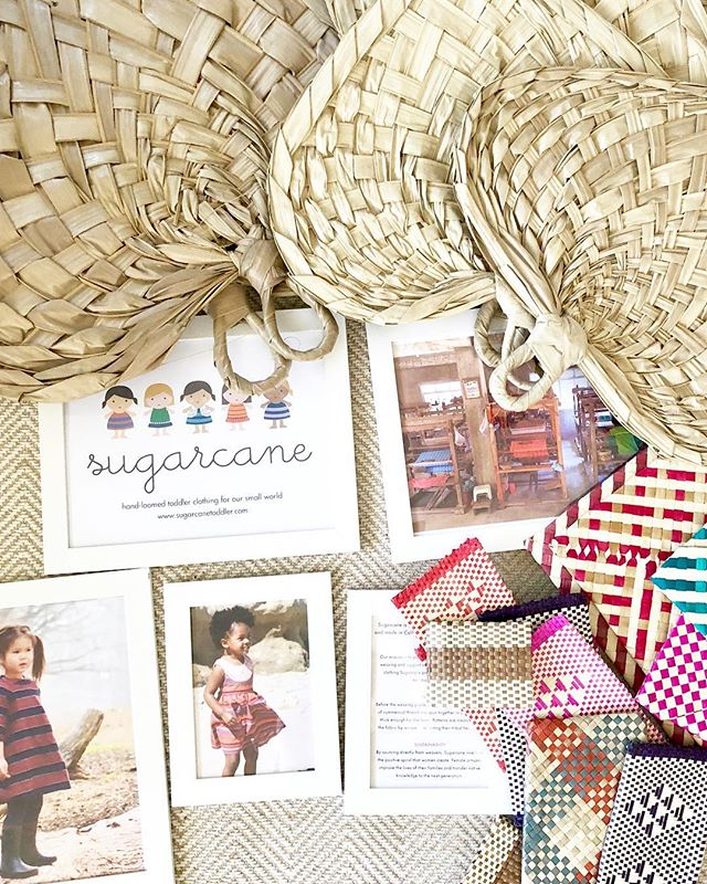 """The hand woven, palm leaf """"pamaypay"""" fans flew off the shelves last night. One left!"""