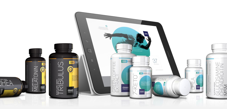 Chosen Vitamins Re-brand