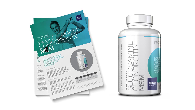 Chosen Vitamins Glucosamine Chondroitin MSM
