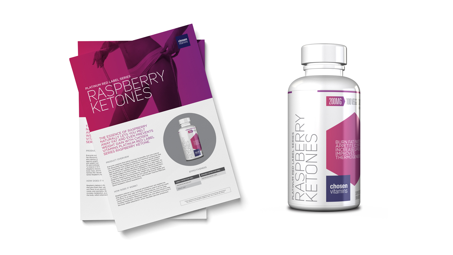 Chosen Vitamins Raspberry Ketones