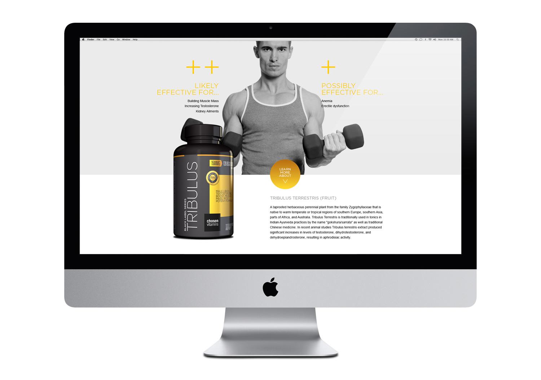Chosen Vitamins Website Details