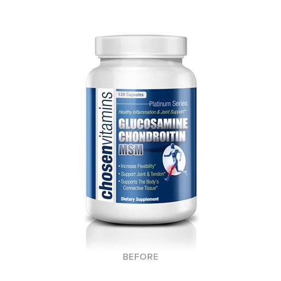 Chosen Vitamins - Before