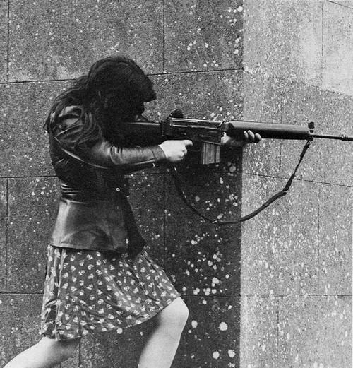 a girl (is) a gun