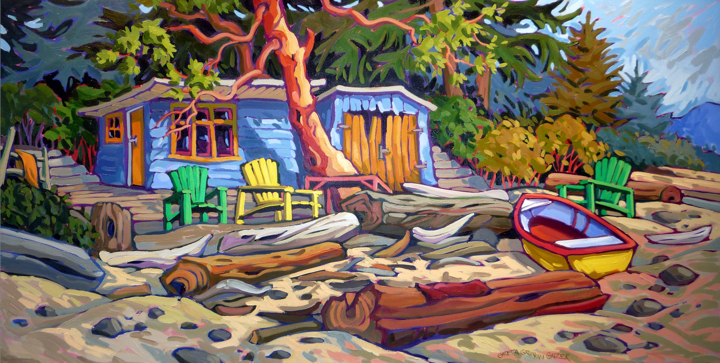 OFF THE GRID 2 (30x60)