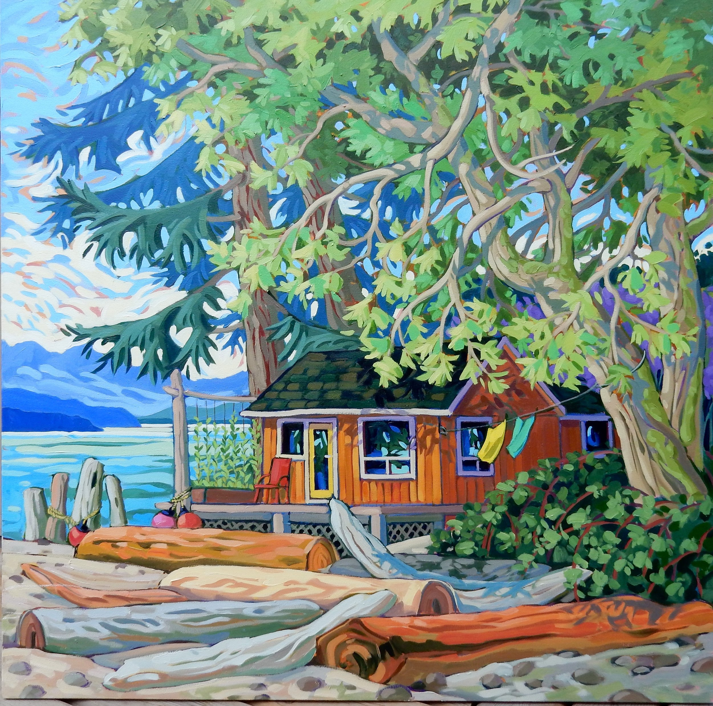 OUTSIDE LOOKING IN (48x48)