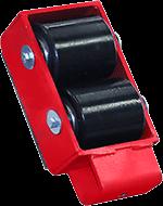 IFT-2 machine skate bottom roller view