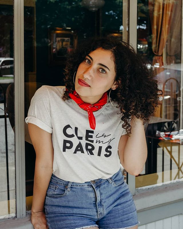 As the All Star festivities die down, we're preparing for Bastille Day which is less than a week away! So we thought it would be a perfect time to highlight one of our favorite collections, Cleveland is My Paris ✨🇫🇷 First up, is the basic CLE is My Paris tee which you can match with one of our bandanas or for a classic look, go with some gold studs or simple chain necklace. Find them online or in the shop! ❤️ Photo: @hellohomegirl Model: @tantinewaro