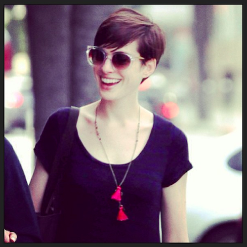 Anne Hathaway in Thierry Lasry