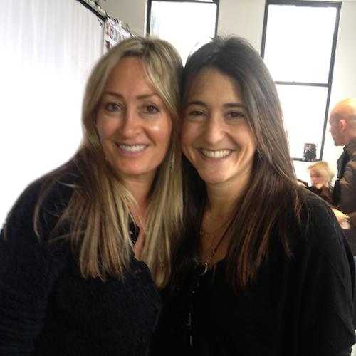 Sue with  Eyewear Designer Claire Goldsmith