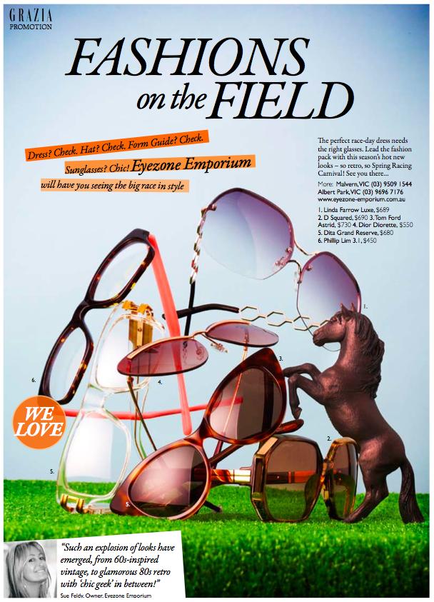 Grazia Magazine feature