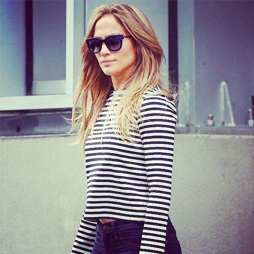 Jennifer Lopez in Thierry Lasry