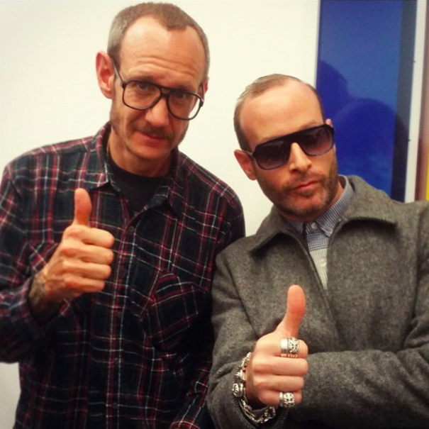 TERRY RICHARDSON AND THIERRY LASRY