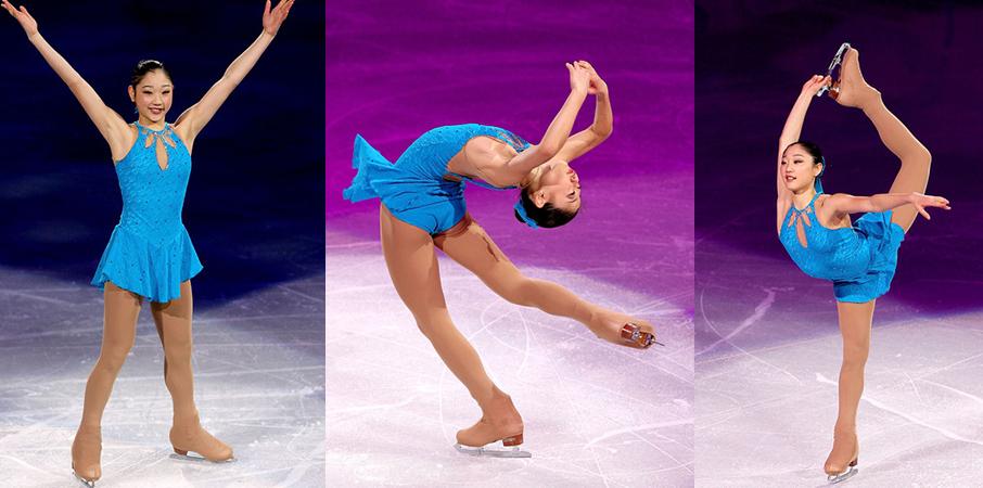 2010 Olympic Gala     Worn by Mirai Nagasu