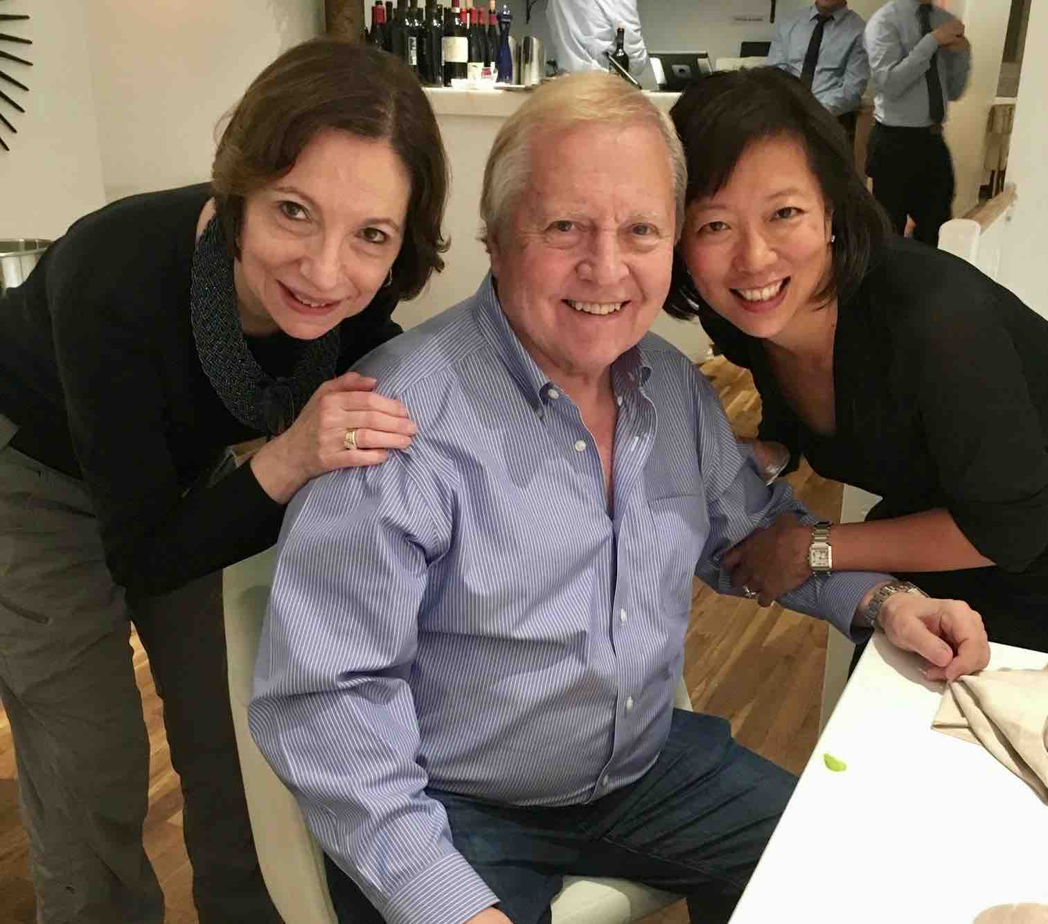With Joanne and Bruce