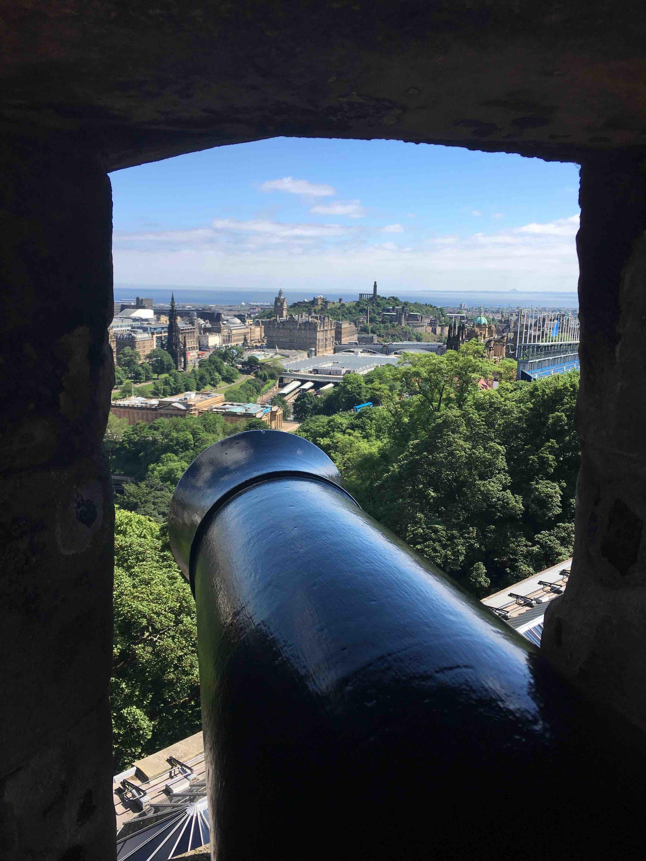 View from Edinburg Castle