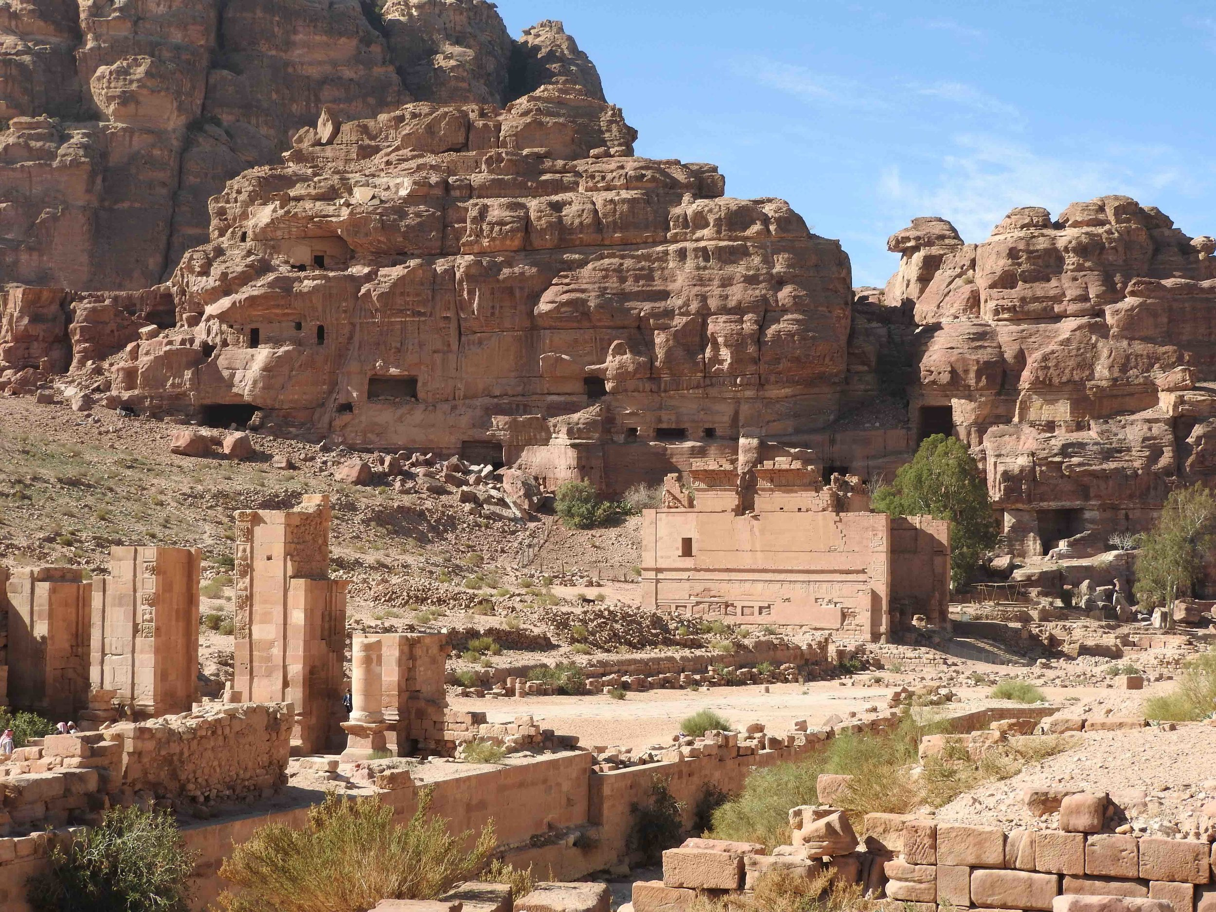 View of Royal Tombs