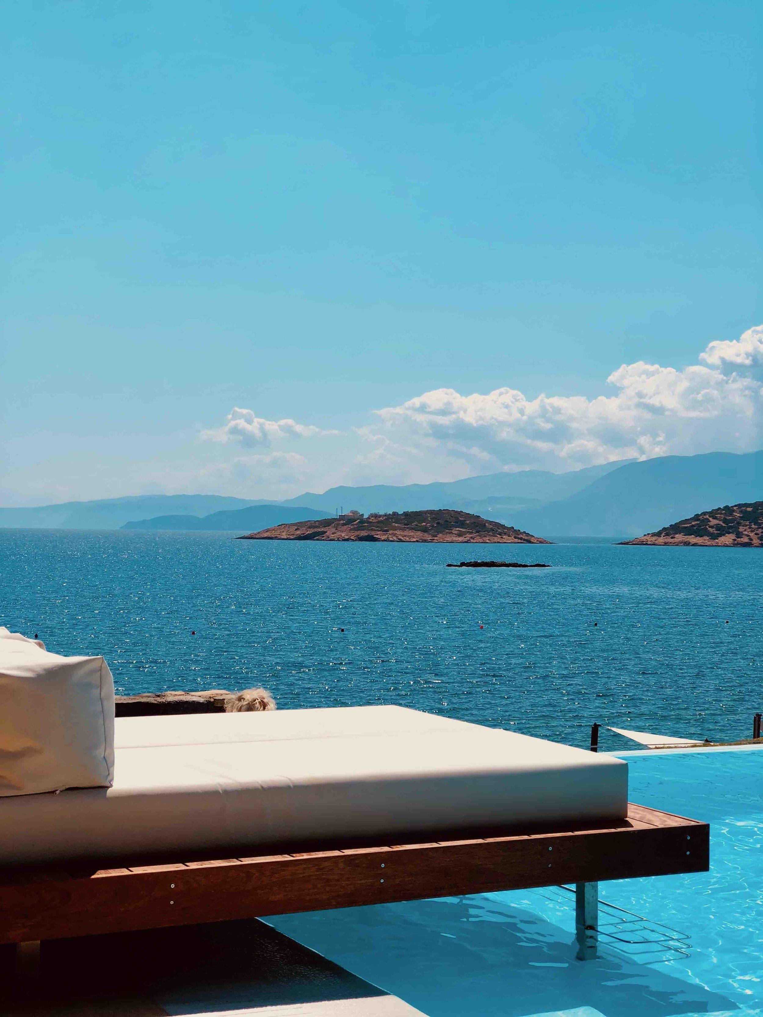 St. Nicolas Bay Hotel poolside
