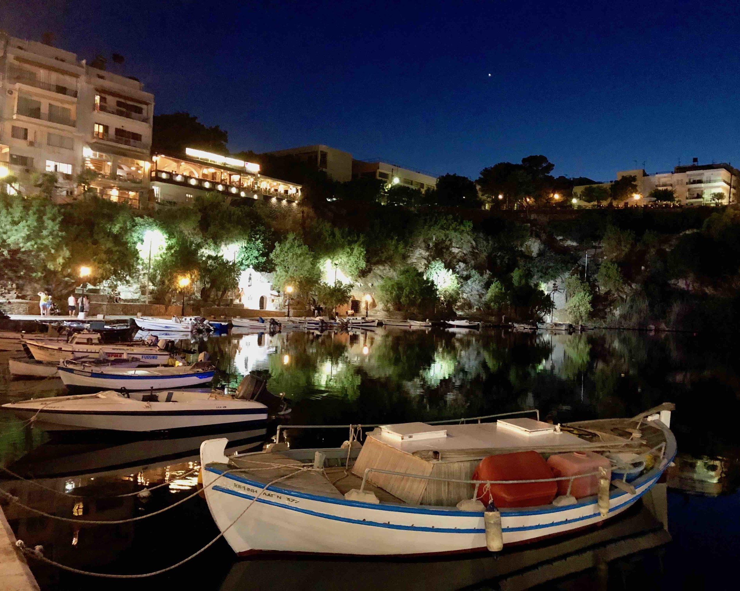 Agios Nikolaos harbour