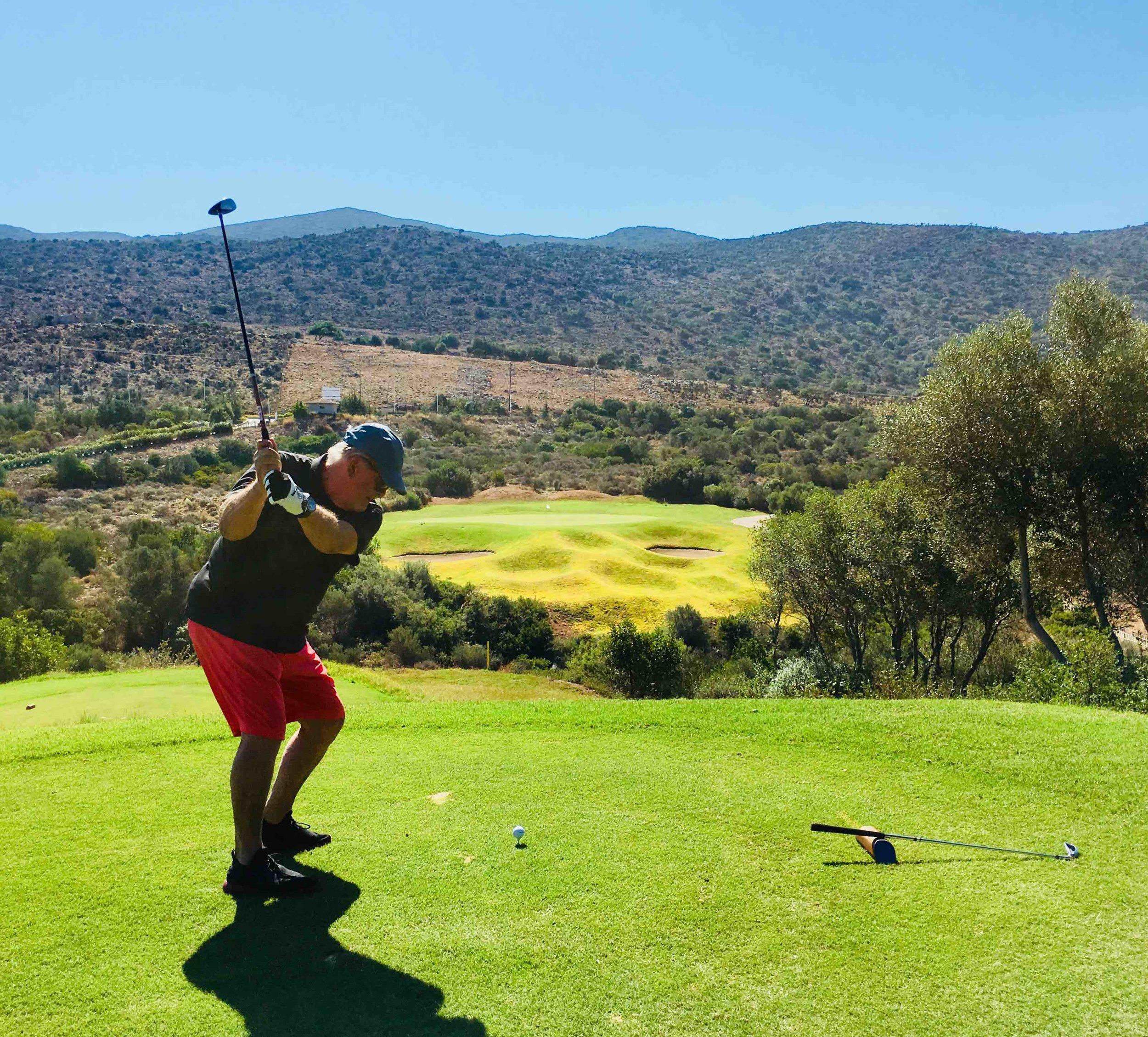 Crete golf course