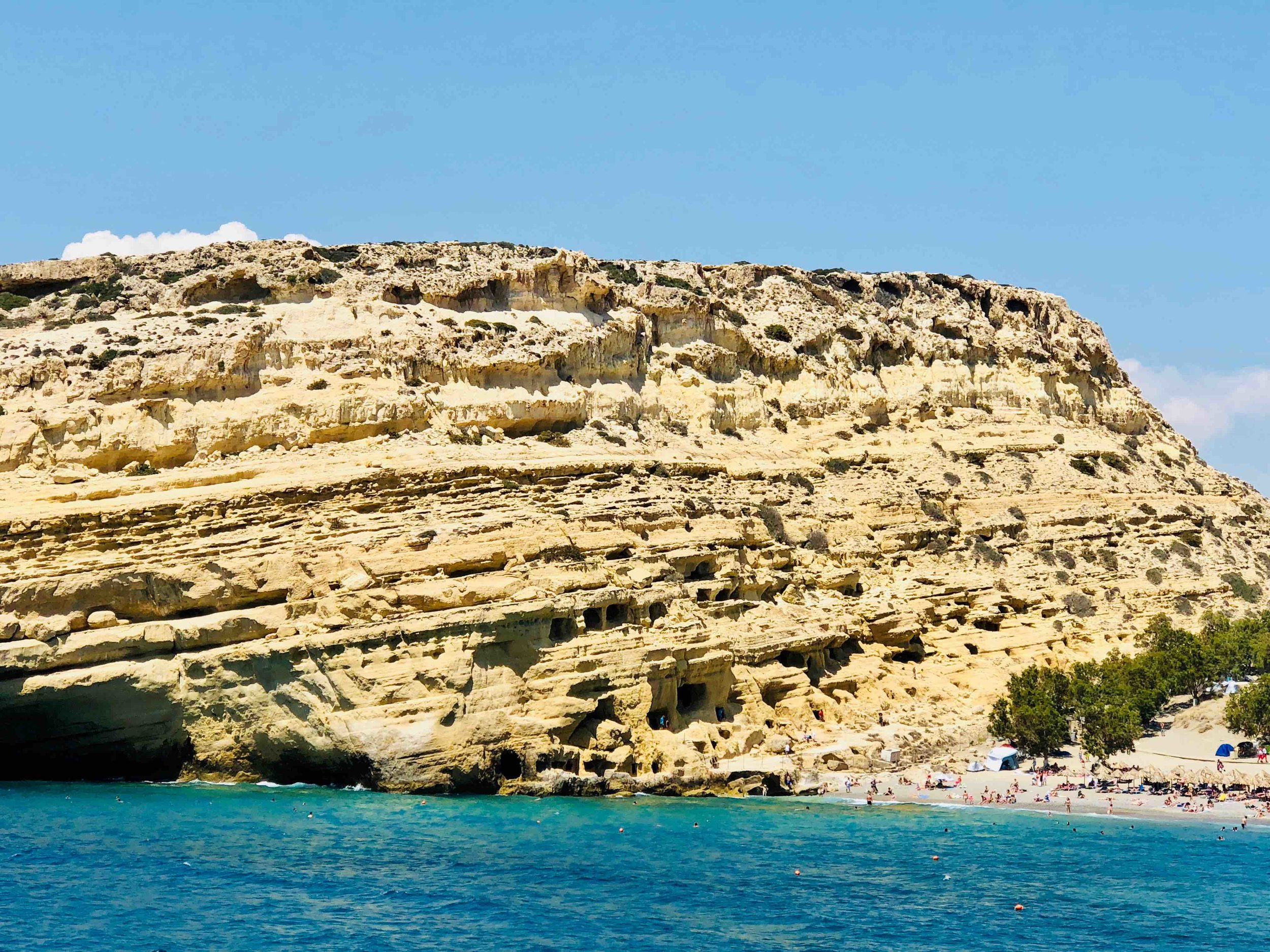 Matala & its caves