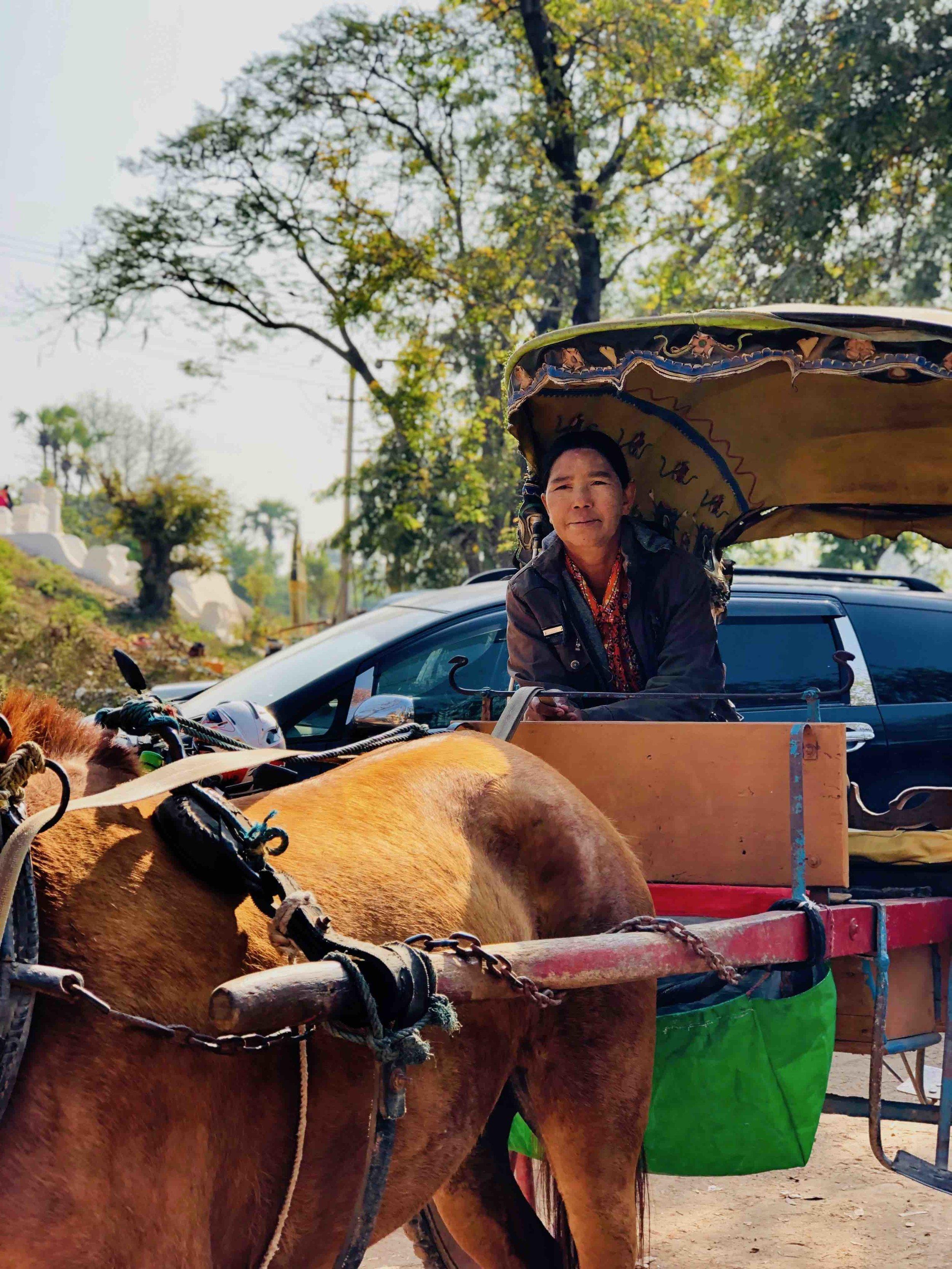 Our ride through Ava