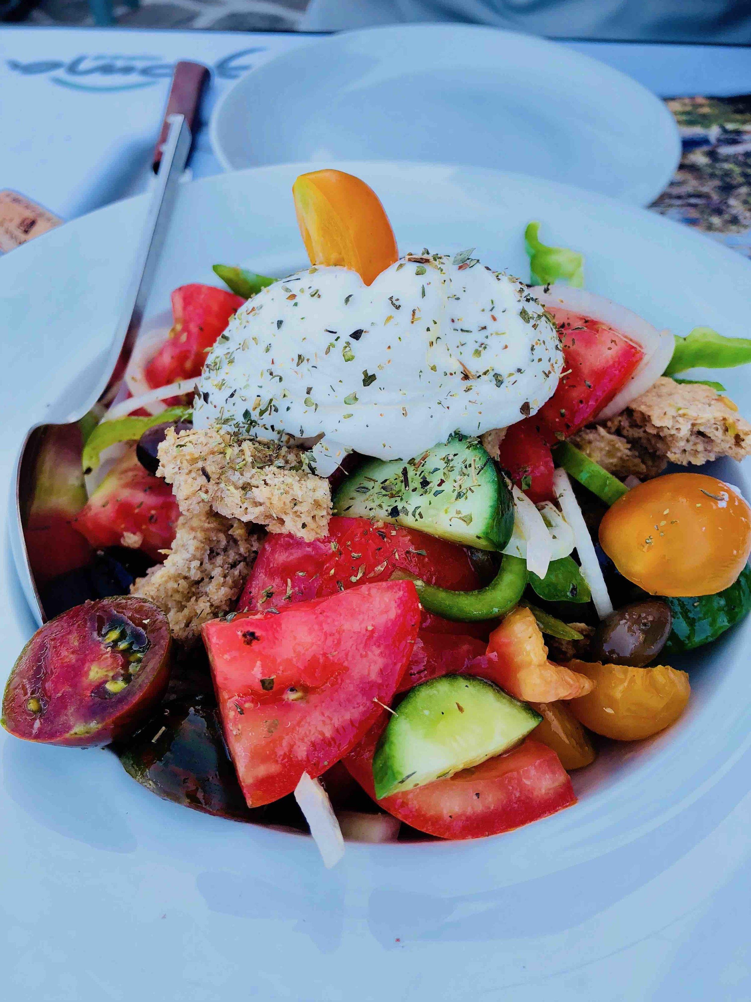 Salad at Gioma