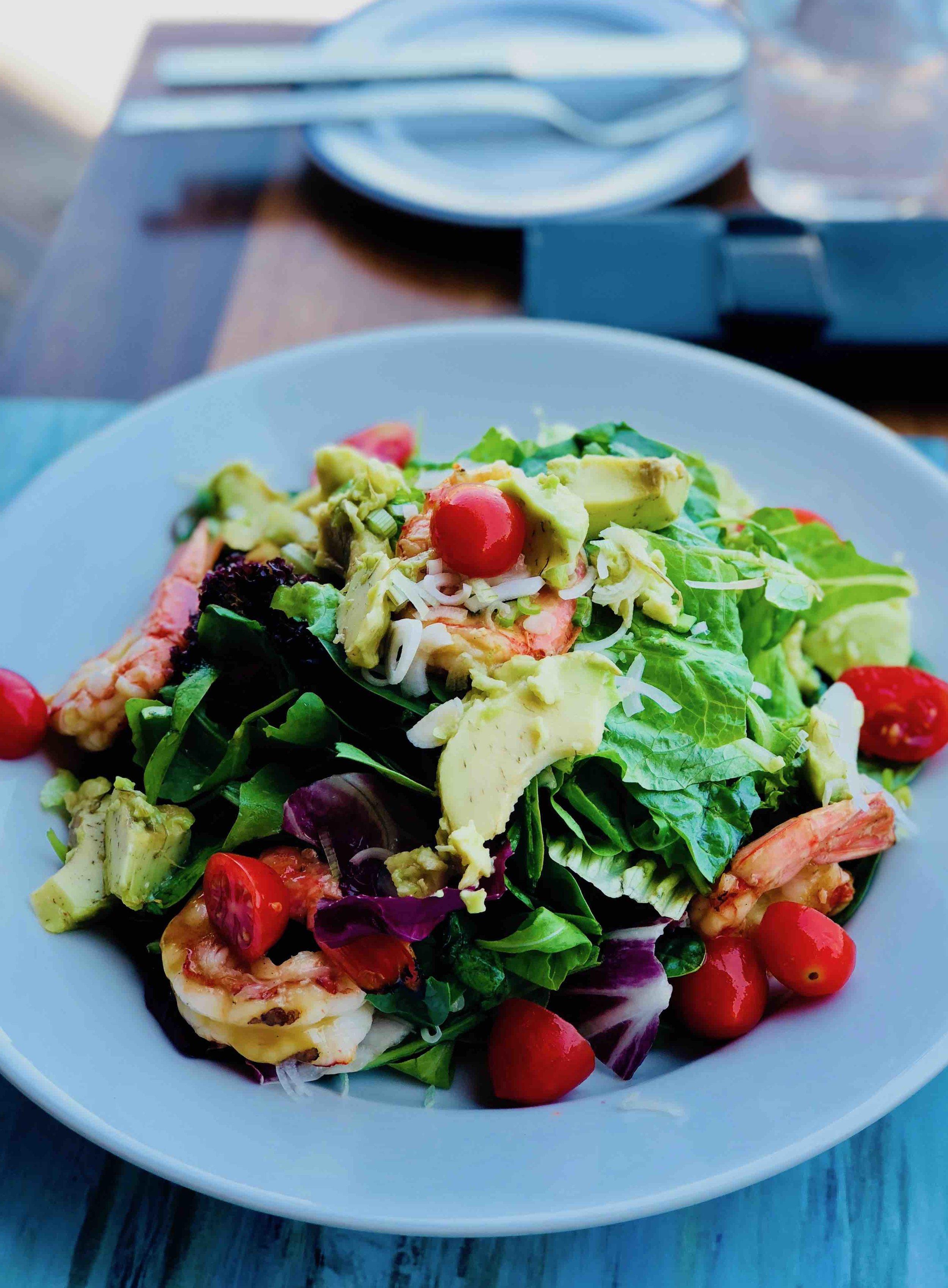 Salad at St. Nicolas