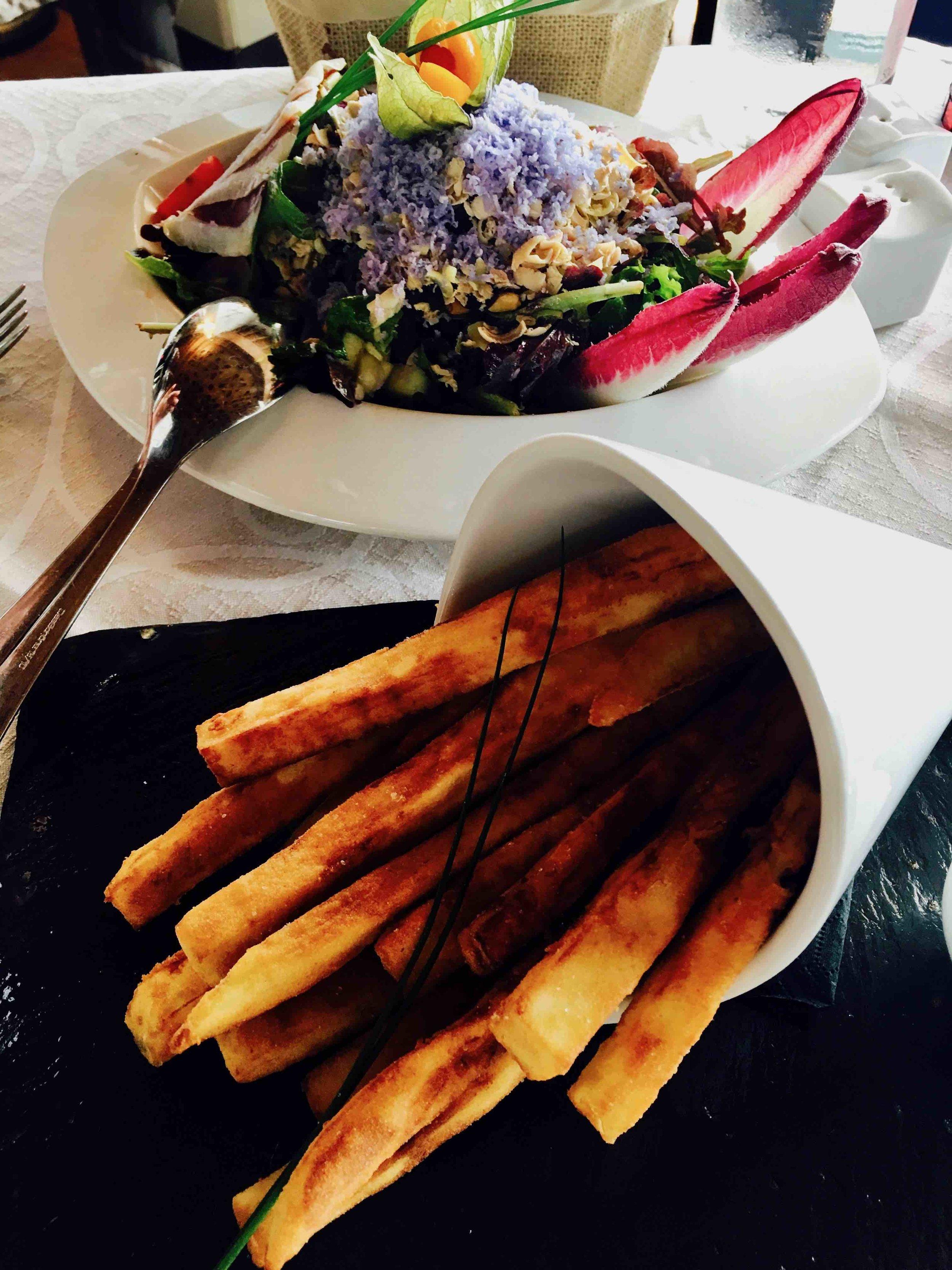 Delicious lunch at Estrellas
