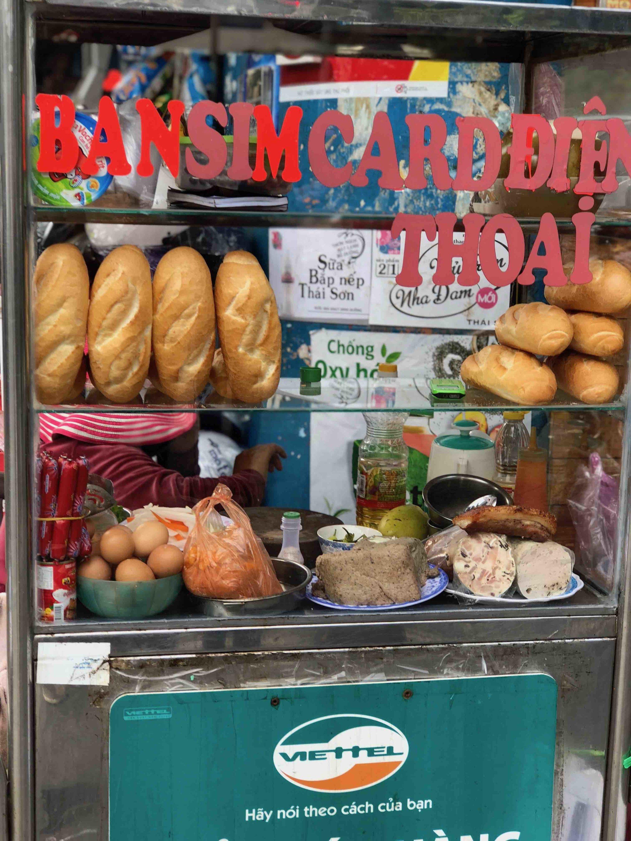 Banh Mi Cart