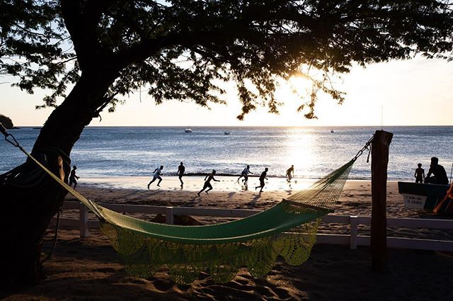 Front row seat to the local soccer game - - - #traveling #travelphotography #travel #sunset#landscape#travelgram#nicaragua