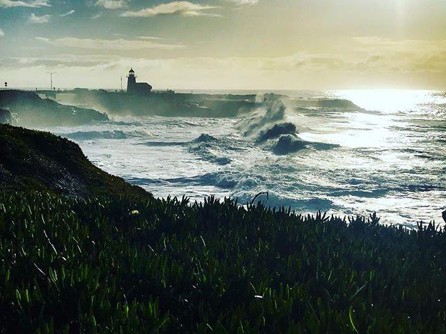 High Tide . . . . #california #landscapephotography #naturallight #landscape #ocean#beach#sea#storm #santacruz