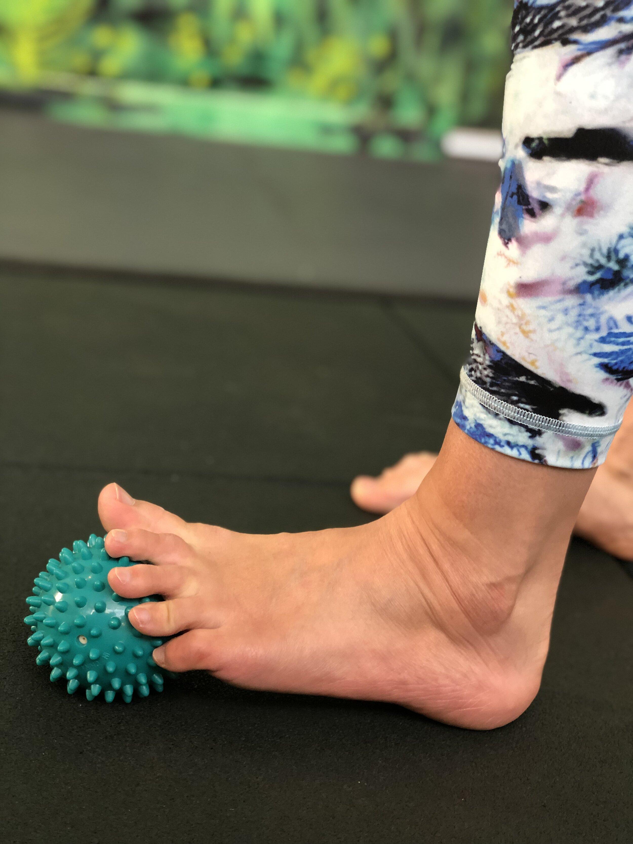Massage ball - toe stretch .JPEG