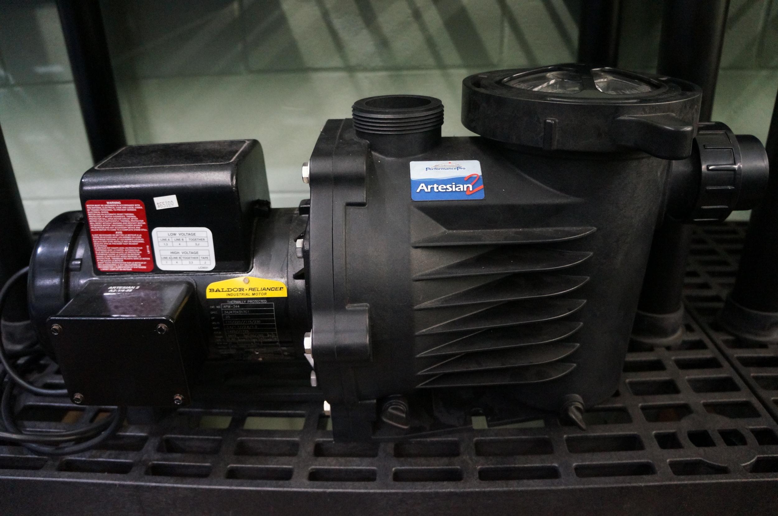 Artesian Pump: 1/8 HP, 1/4 HP, 1/2 HP