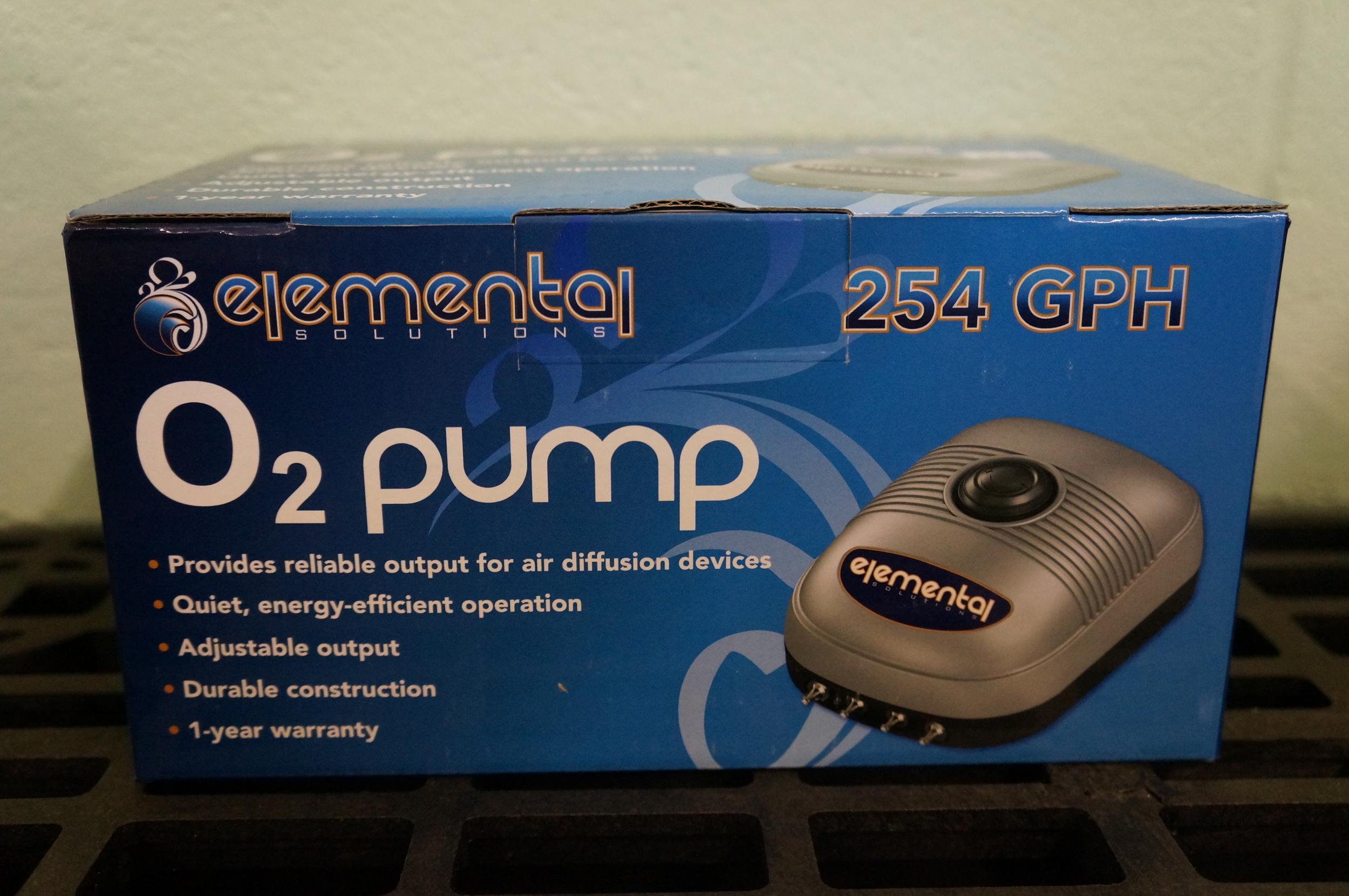 Elemental 254 GPH Pump