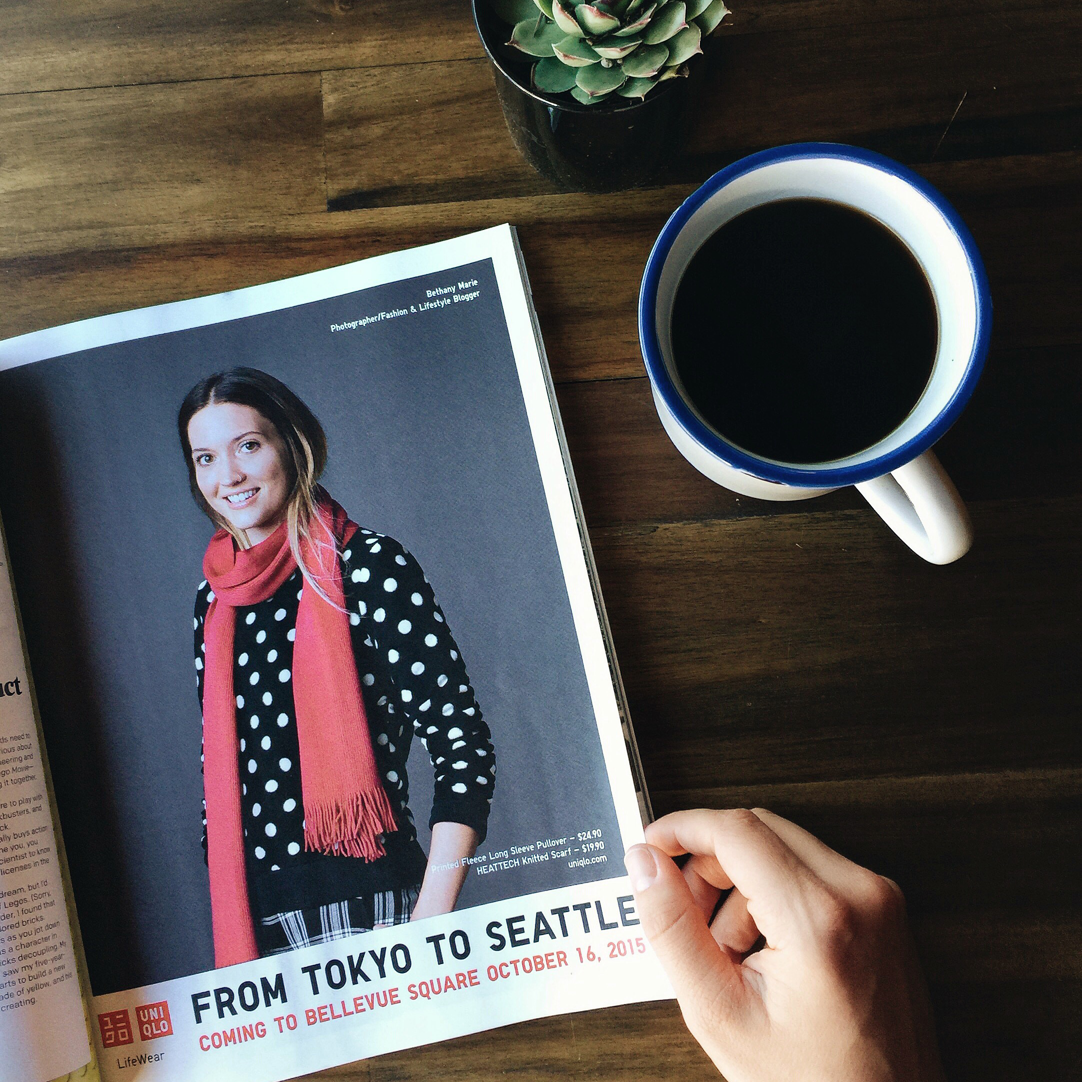 Uniqlo in Seattle Met Magazine