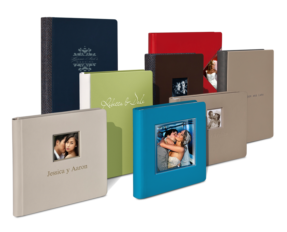 Our Italian Wedding Album Collection in Mated Style