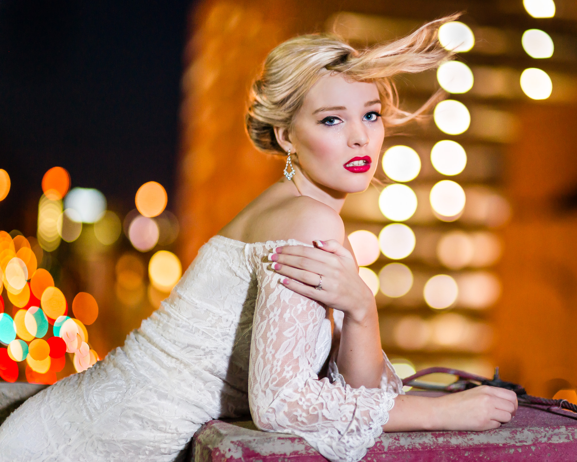 Bridal session in downtown Fort Worth