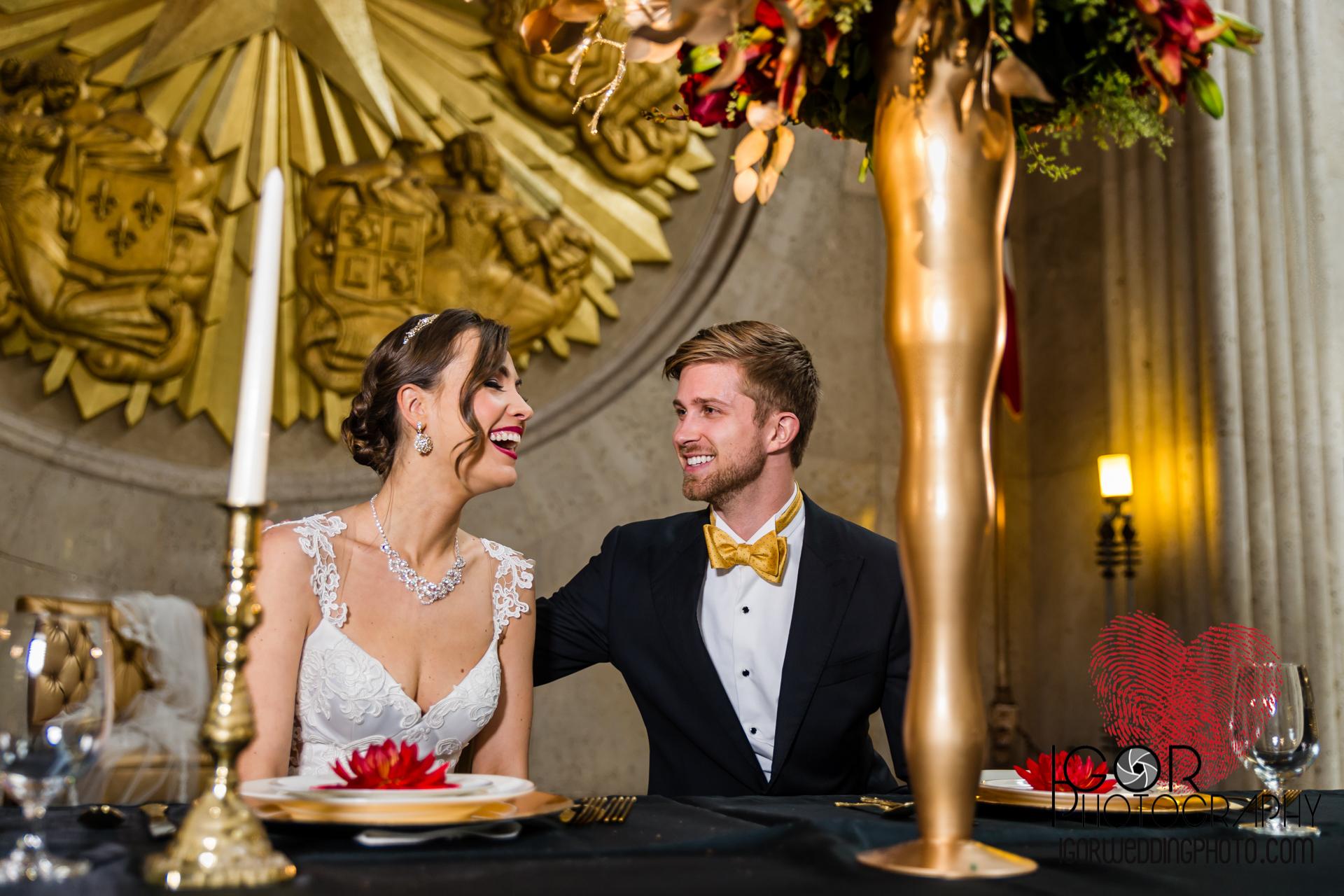 HOS candid wedding reception photo