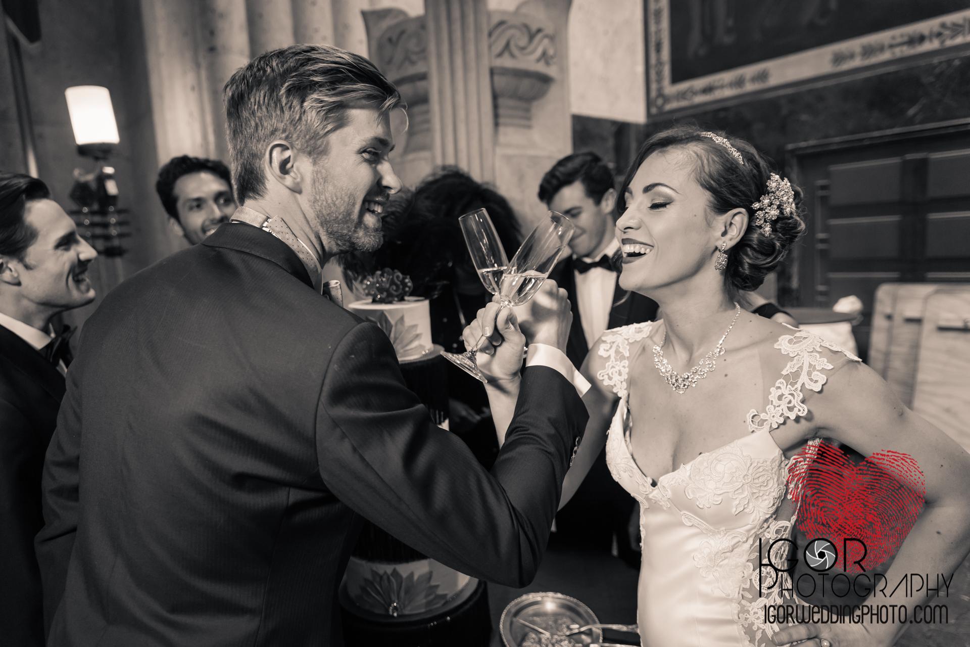Dallas wedding toast