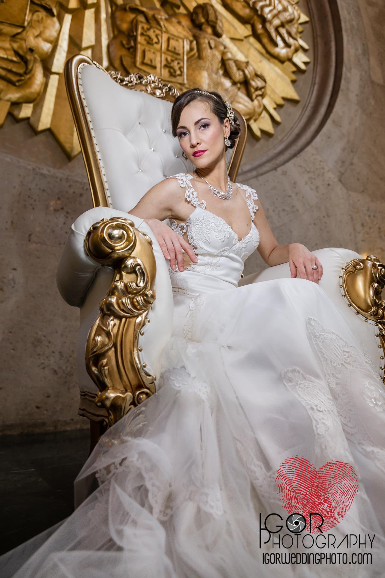 Fair Park bride portrait